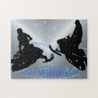 El Snowmobiling - rompecabezas de Snowmobilers