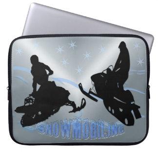 "El Snowmobiling - Snowmobilers 15"" manga de la ele Manga Computadora"