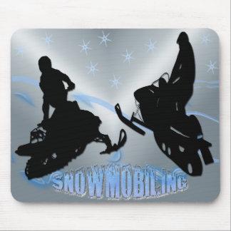 El Snowmobiling - Snowmobilers Mousepad