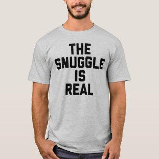 El Snuggle es camiseta real