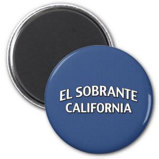 El Sobrante California 2 Inch Round Magnet