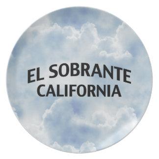 El Sobrante California Dinner Plate