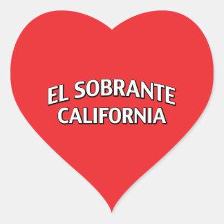 El Sobrante California Heart Sticker