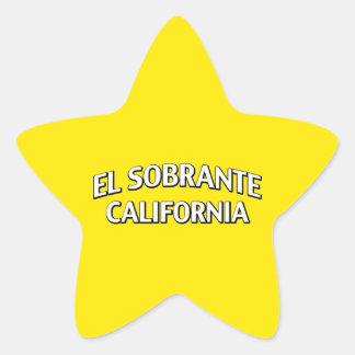 El Sobrante California Star Sticker