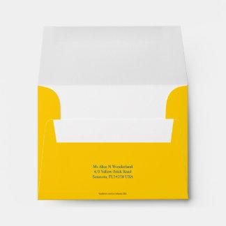 El sobre A2 Mellow remite amarillo