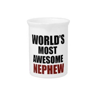 El sobrino más grande del mundo jarra de beber