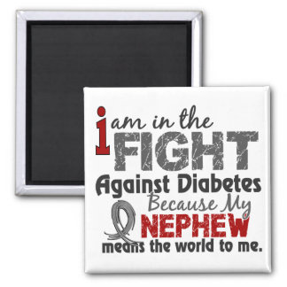 El sobrino significa el mundo a mí diabetes imán cuadrado