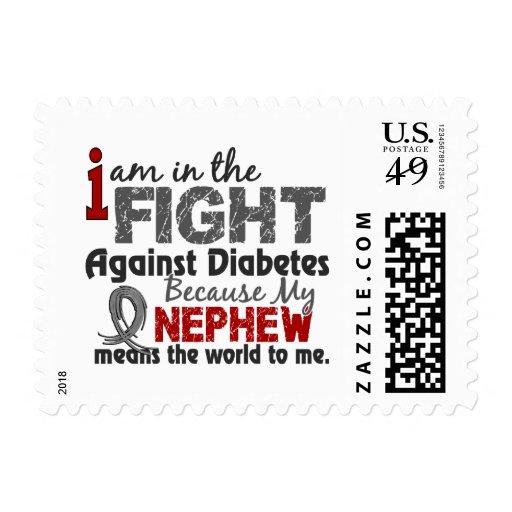 El sobrino significa el mundo a mí diabetes franqueo