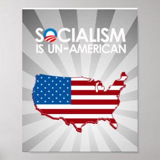 El socialismo es antiamericano impresiones