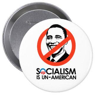 El socialismo es antiamericano pin