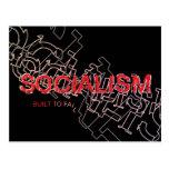 El socialismo se construye para fallar postal