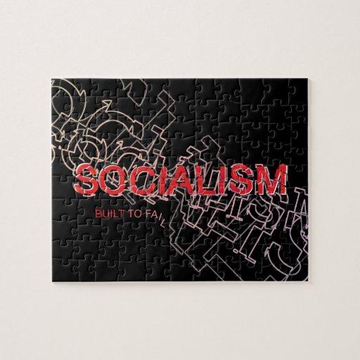 El socialismo se construye para fallar puzzle con fotos