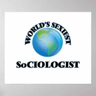 El sociólogo más atractivo del mundo póster