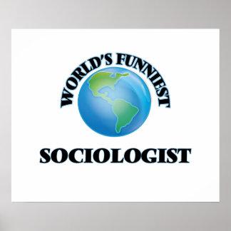 El sociólogo más divertido del mundo póster