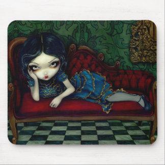 """""""El sofá"""" Mousepad del escarlata Alfombrillas De Ratones"""