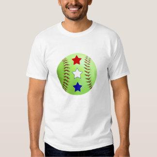 El softball All-star futuro embroma el camisetas Playeras