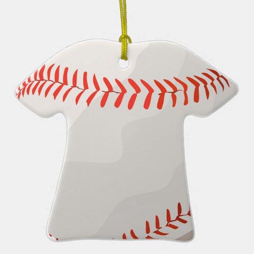 El softball del béisbol se divierte los regalos ornato