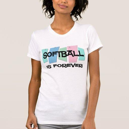 El softball es Forever Camisetas
