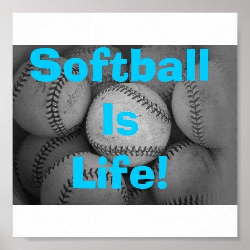 El softball es vida impresiones