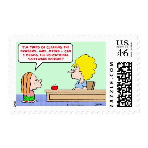 el software elimina errores del profesor envio