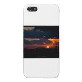 El sol 002 iPhone 5 cárcasa