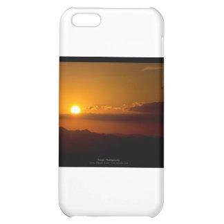 El sol 003 - puesta del sol en las montañas