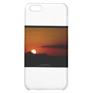 El sol 004 - puesta del sol en las montañas
