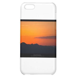El sol 005 - puesta del sol en las montañas