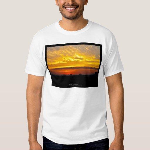 El sol 008 - puesta del sol en la ciudad playera
