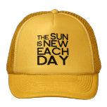 el sol es nuevo cada día, heracletus gorra
