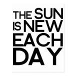 el sol es nuevo cada día, heracletus postal