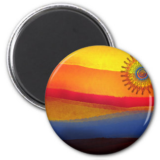 El sol magnets