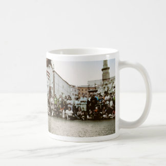 El sol naciente tazas de café