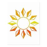 El sol postal