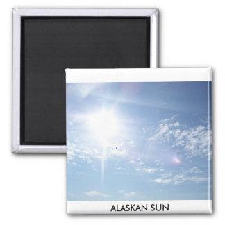 el sol, SOL DE ALASKA Imán