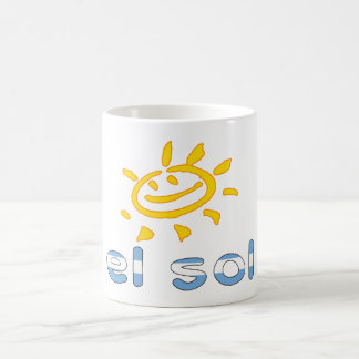 El Sol - The Sun in Argentine Summer Vacation Coffee Mugs