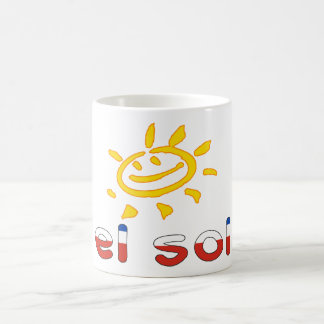 El Sol - The Sun in Chilean Summer Vacation Mug
