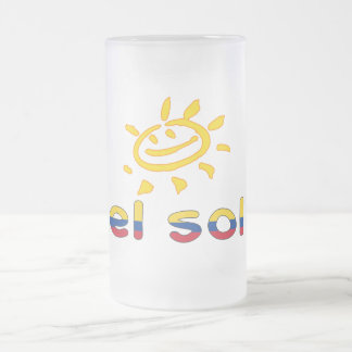 El Sol The Sun in Colombian Summer Vacation Mugs