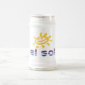 El Sol - The Sun in Cuban Summer Vacation Coffee Mugs