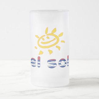 El Sol - The Sun in Cuban Summer Vacation Mug