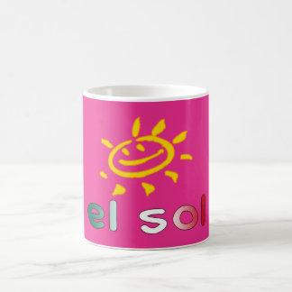 El Sol The Sun in Mexican Summer Vacation Coffee Mug