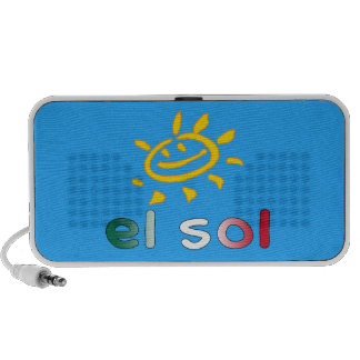 El Sol The Sun in Mexican Summer Vacation Speakers