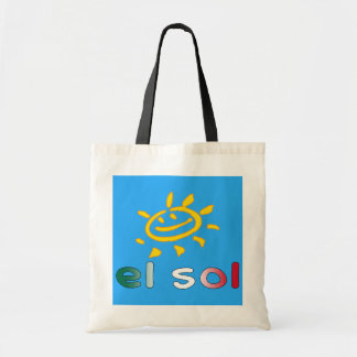 El Sol The Sun in Mexican Summer Vacation Tote Bag