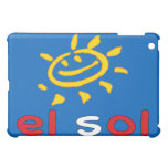 El Sol - The Sun in Peruvian Summer Vacation iPad Mini Covers