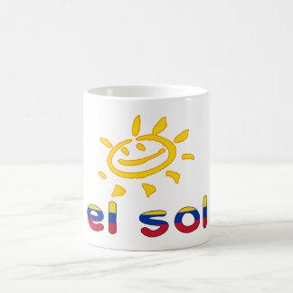 El Sol - The Sun in Venezuelan Summer Vacation Mug