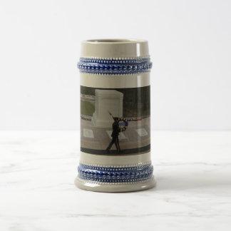 El soldado desconocido jarra de cerveza