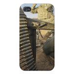 el soldado explora para la actividad enemiga iPhone 4/4S fundas
