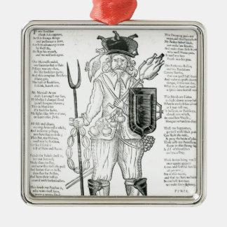 El soldado irlandés inglés, con nueva disciplina ornamentos para reyes magos