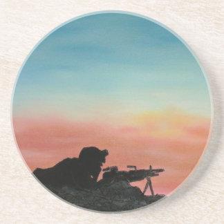 """El soldado """"libertad del práctico de costa aguanta posavasos diseño"""