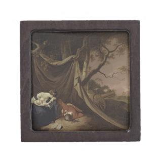 El soldado muerto, c.1789 (aceite en lona) cajas de recuerdo de calidad
